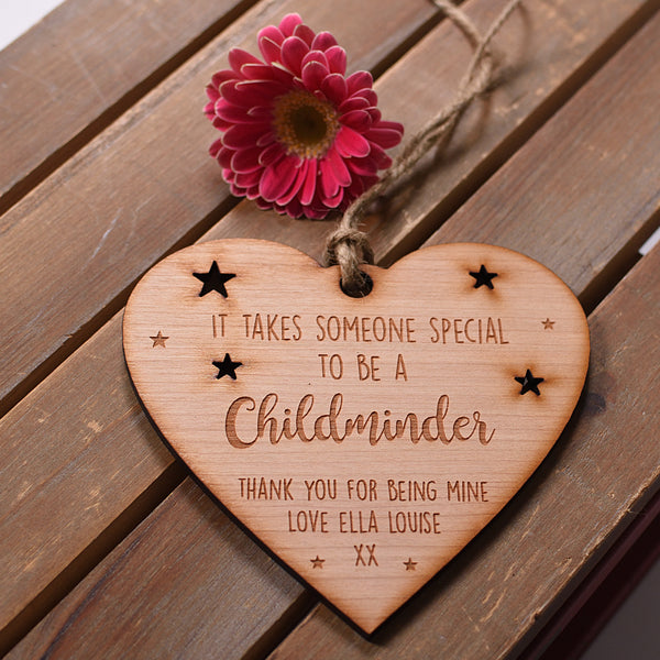 It Takes Someone Special Heart Hanging Plaque