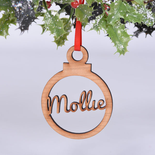 Classic Personalised Bauble