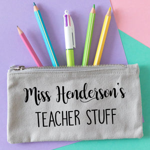 Teacher Stuff Pencil Case