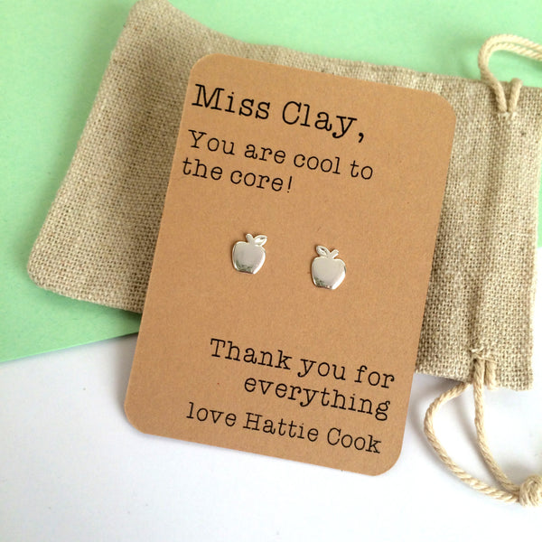 Cool to the Core Teacher Earrings