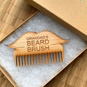 Personalised Beard Brush