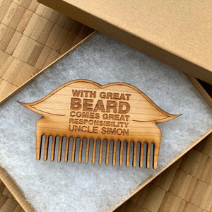 With Great Beard Comes Great Responsibility - Brush