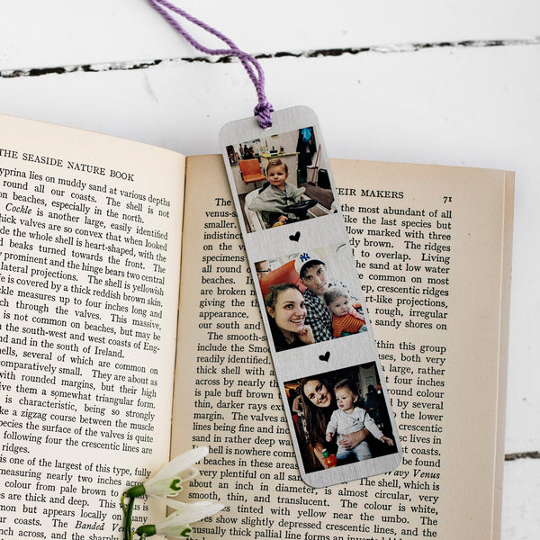 Aluminium Everlasting Bookmark