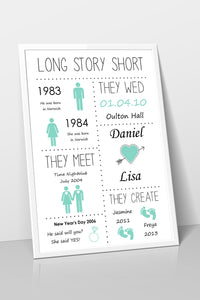 Long Story Short Print with children