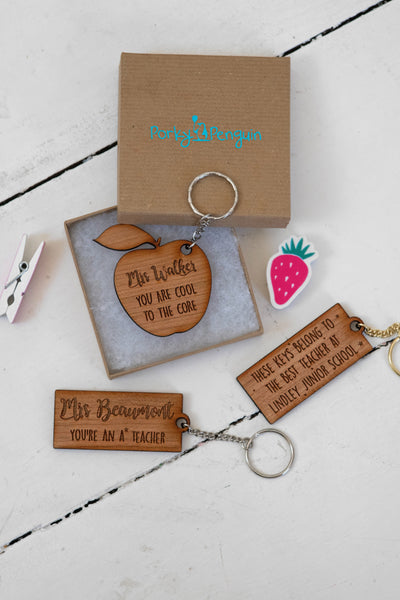 A* Teacher Keyring