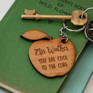 Apple Teacher Keyring