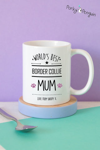 Best Dog Mum Mug - Choose any breed!