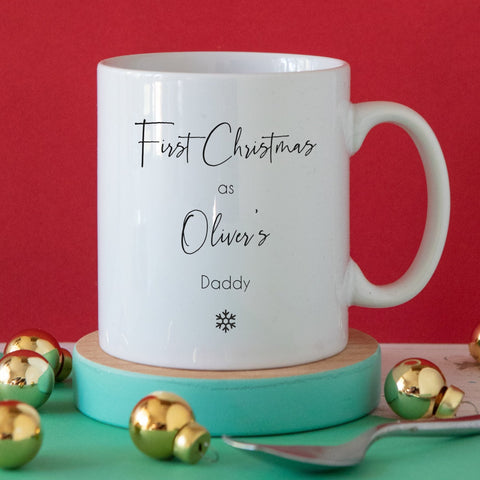 First Christmas Snowflake Mug