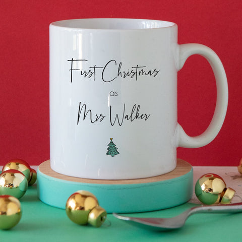 First Christmas as a Mrs Mug
