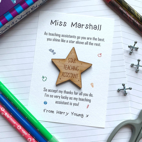 Shine Like A Star - Teaching Assistant Magnet