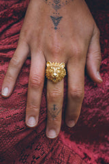 (SALE) Tiger ring ~ Gold