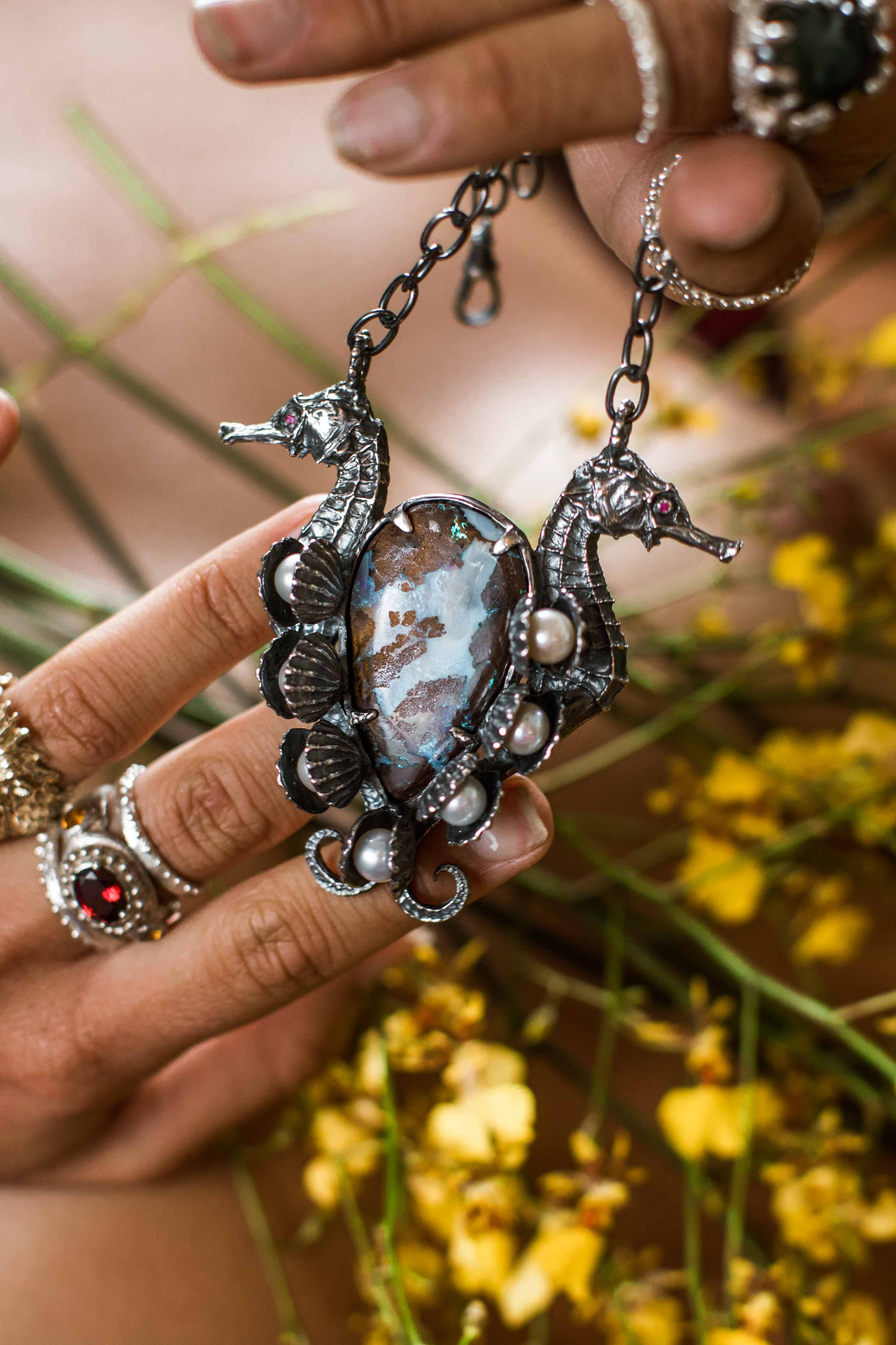 Cosmic Fusion Necklace