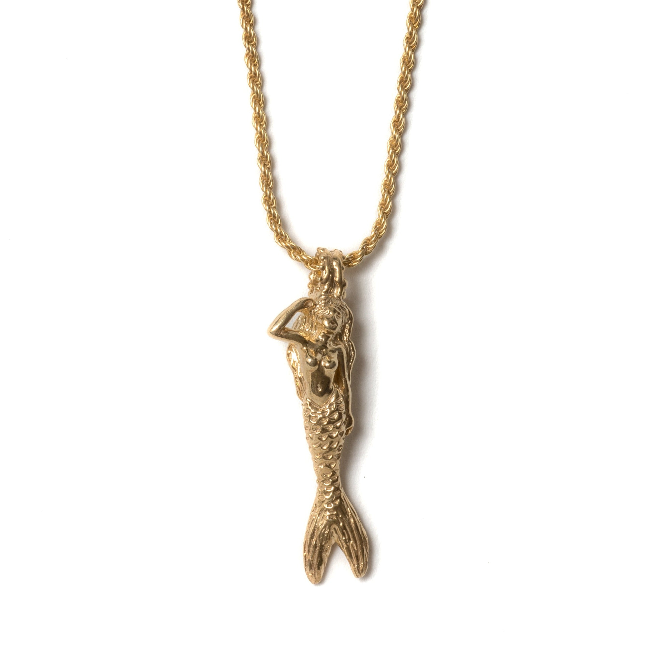 Siren Necklace (Gold Plated)