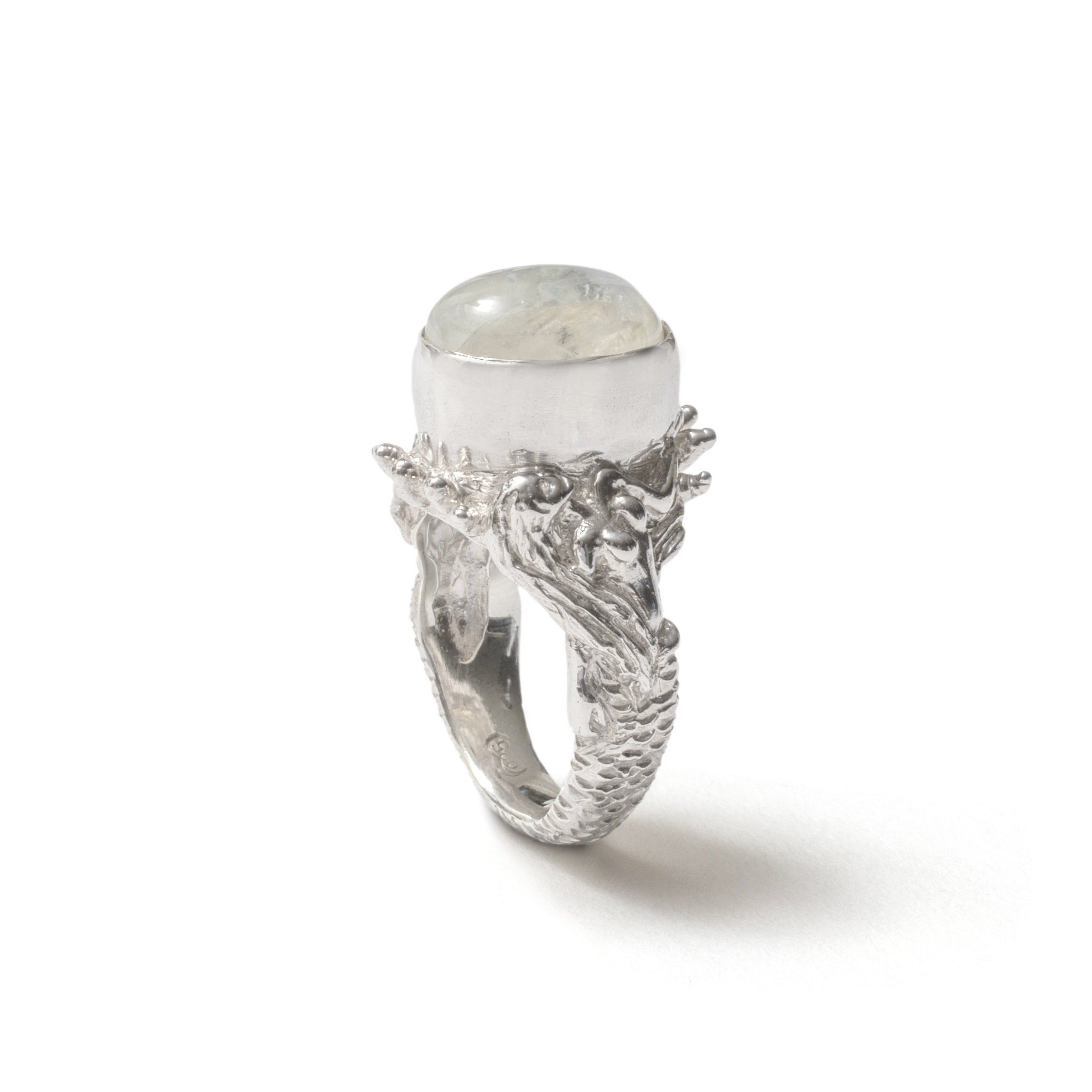 Angitia moonstone sisters ring