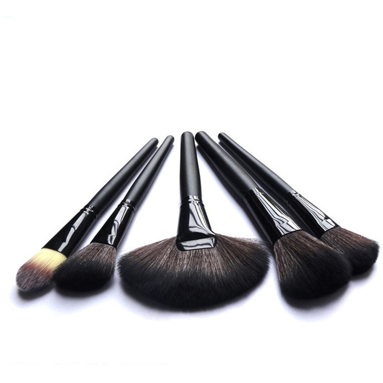22 Piece Black Brush Set