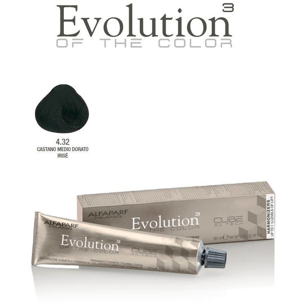 ALFAPARF Evolution of Color MARONS GLACE (Golden) SHADES