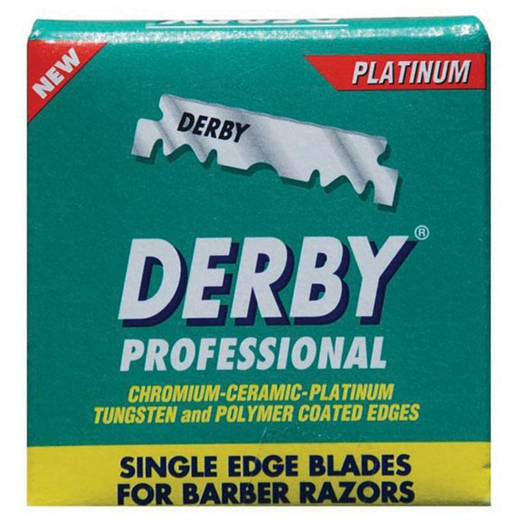 Derby  Pro Single Edge Razor Blades 100pcs Per Box