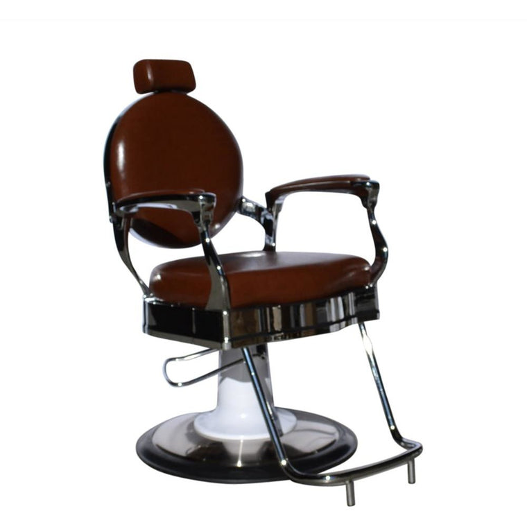 BARBER CHAIR [STYLING] ROMA  BROWN