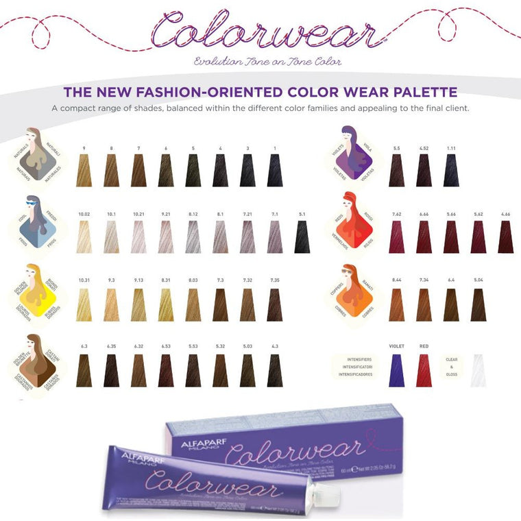 ALFAPARF COLOR WEAR VIOLET TONES