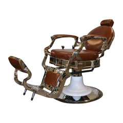 BARBER CHAIR DALLAS BROWN