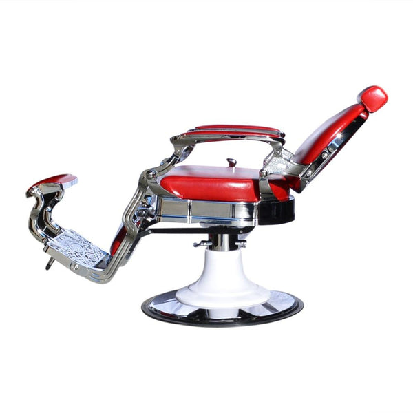 BARBER CHAIR DALLAS RED