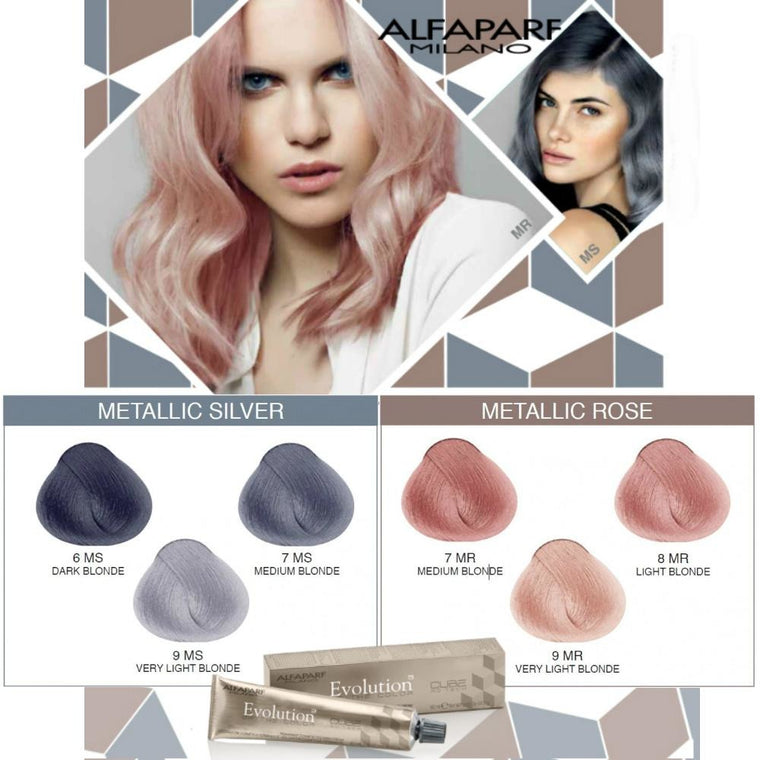 ALFAPARF Evolution of Color METALLICS