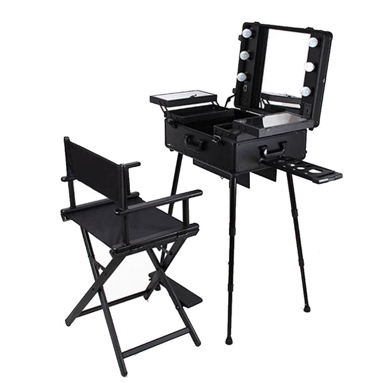 Make-up Case & Director's ChairSet