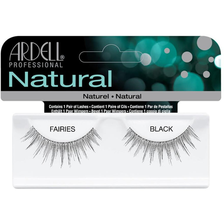 ARDELL NATURAL STYLE FAIRIES BLACK INVISIBANDS