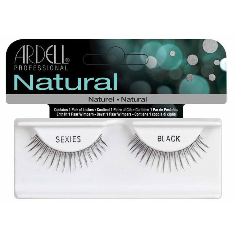 Ardell Natural Style Sexies Black Invisibands Eyelash Extensions