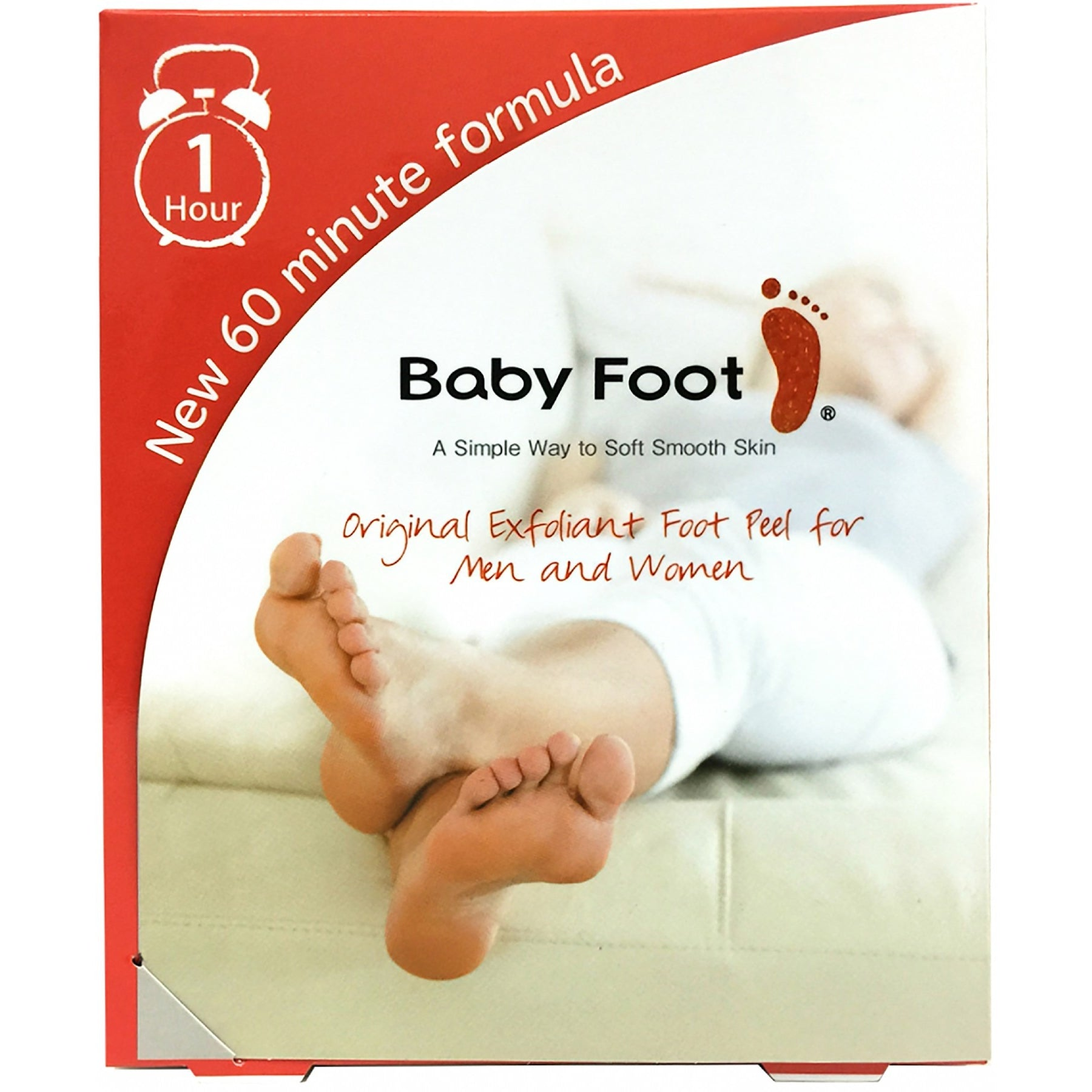 Baby Foot Exfoliation  60 Minute