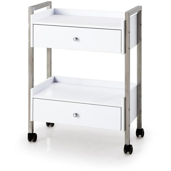 Beauty Trolley Two Drawer