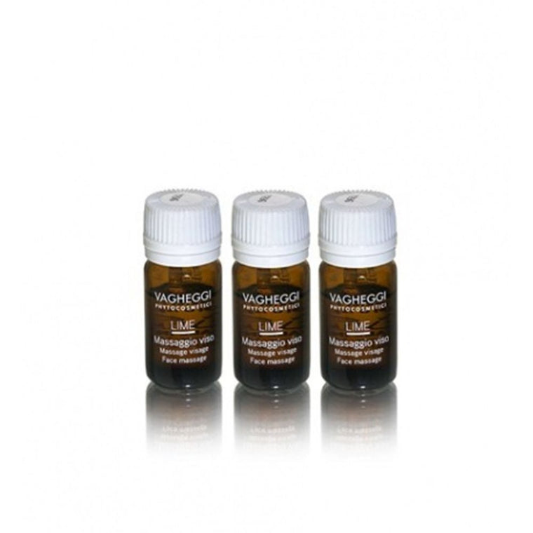 Vagheggi LIME FACIAL MASSAGE OIL 5x4ml