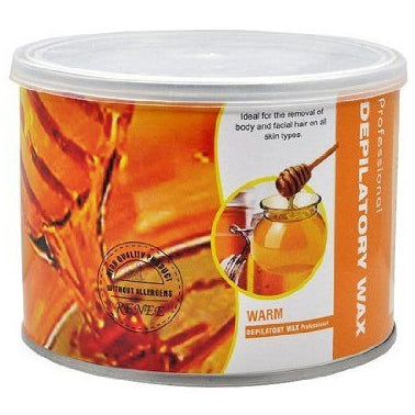 Depilatory Strip Wax Can 400ML Scented Honey