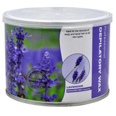 Depilatory Strip Wax Can 400ML Scented Lavender