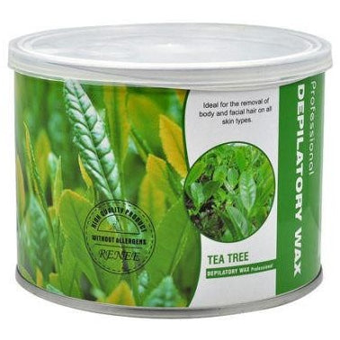 Depilatory Strip Wax Can 400ML Scented Tea Tree
