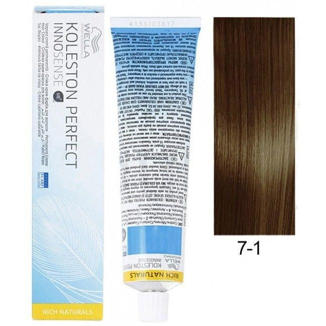 KOLESTON PERFECT INNOSENSE MEDIUM BLONDE ASH 7/1