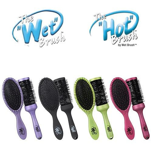 Wet Brush Wet 2-Style Twin Brush Black