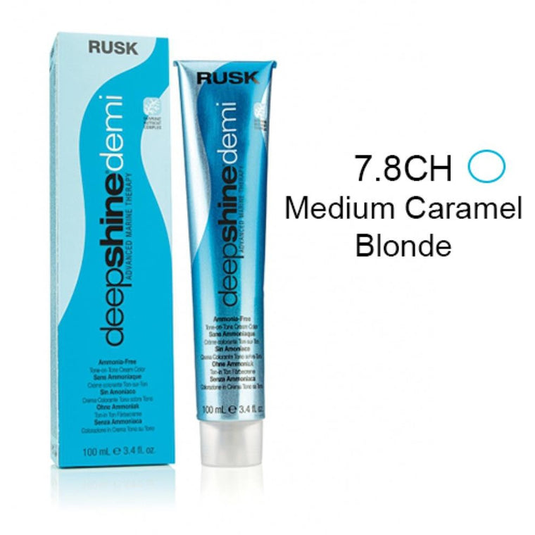 Rusk Deepshine Demi Medium Caramel Blonde