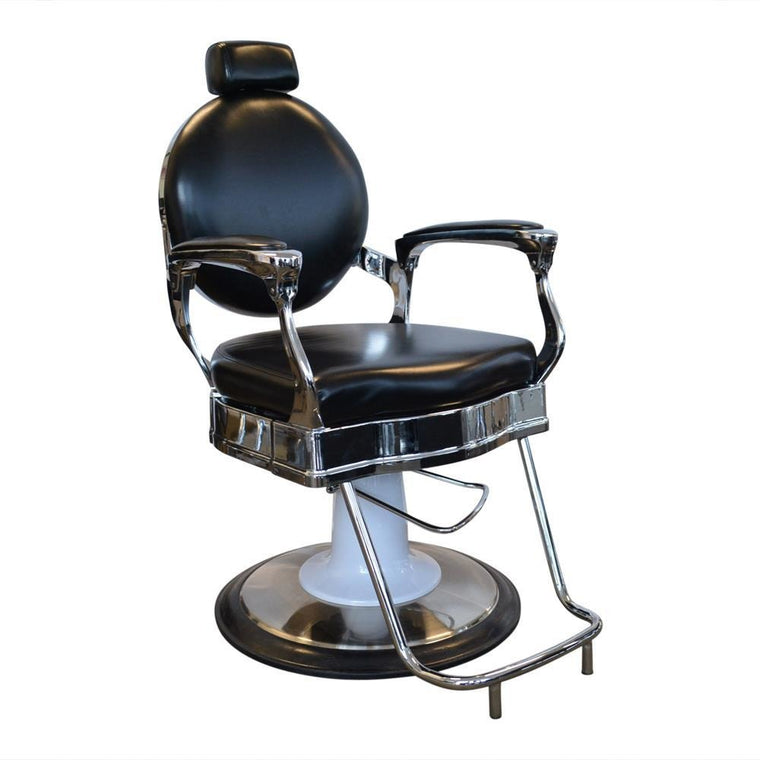 BARBER CHAIR [STYLING] ROMA BLACK