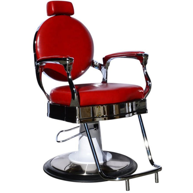 BARBER CHAIR [STYLING] ROMA  RED