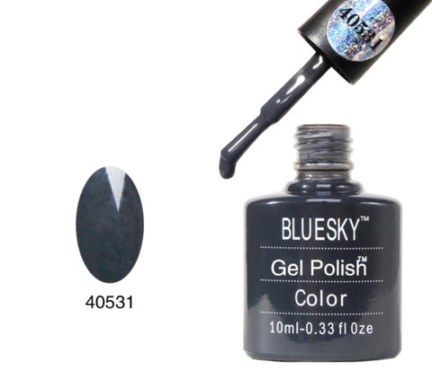 Bluesky Shades of Grey & Silver UV Gel Polish