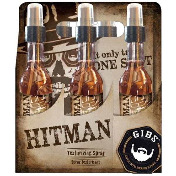 GIBS 6pc Hitman Texturizing Spray Display