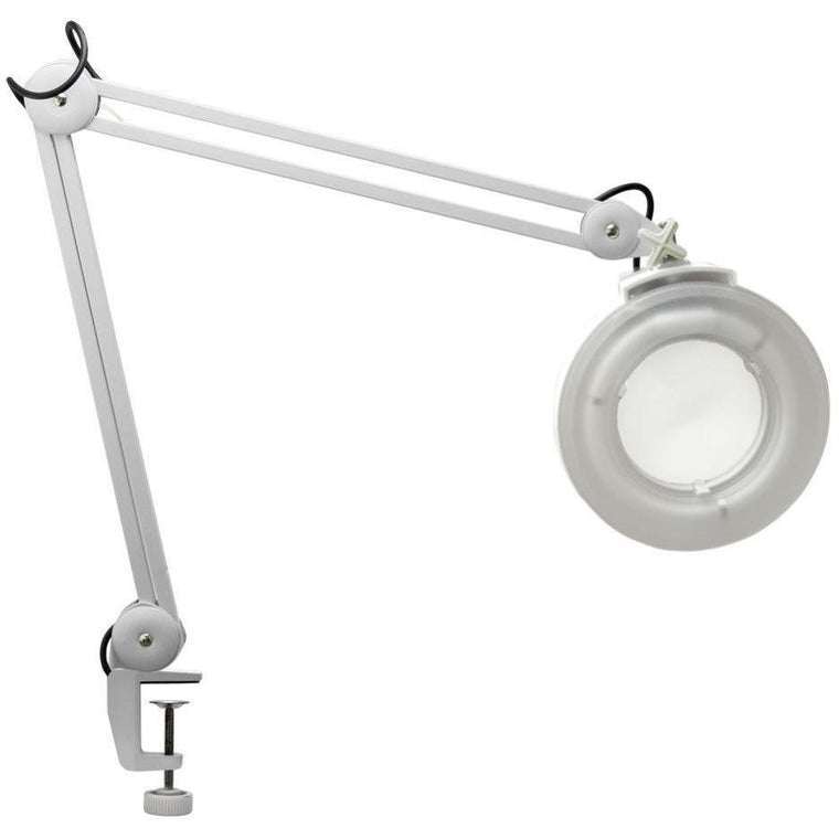 Clampable Table Magnifier Lamp