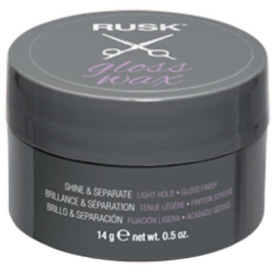 RUSK STYLING LIGHT HOLD GLOSS WAX