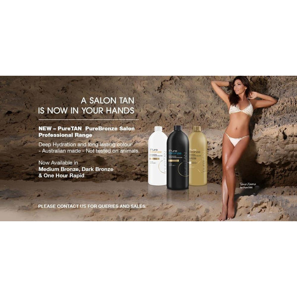 PureTan Bronze Medium Golden Bronze (1L)