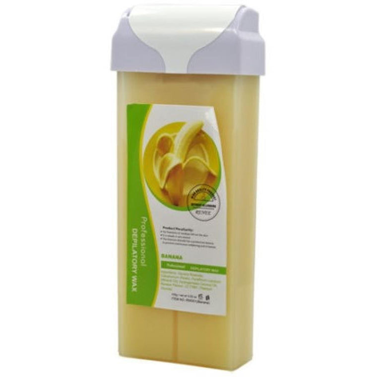 Roll-On Depilatory Wax Refill Cartridge BANANA