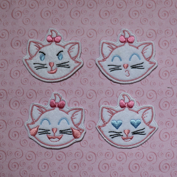 Marie Iron On Patches All FOUR!