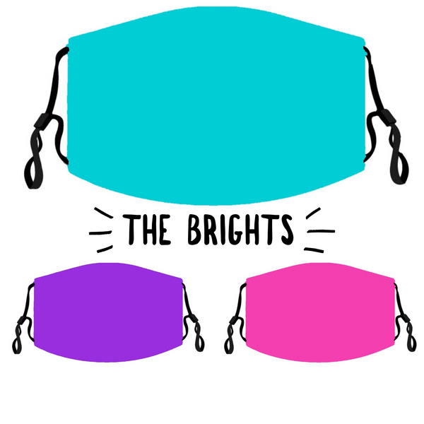 The Brights Mask Pack - Adult {Shipping within 2 weeks!}