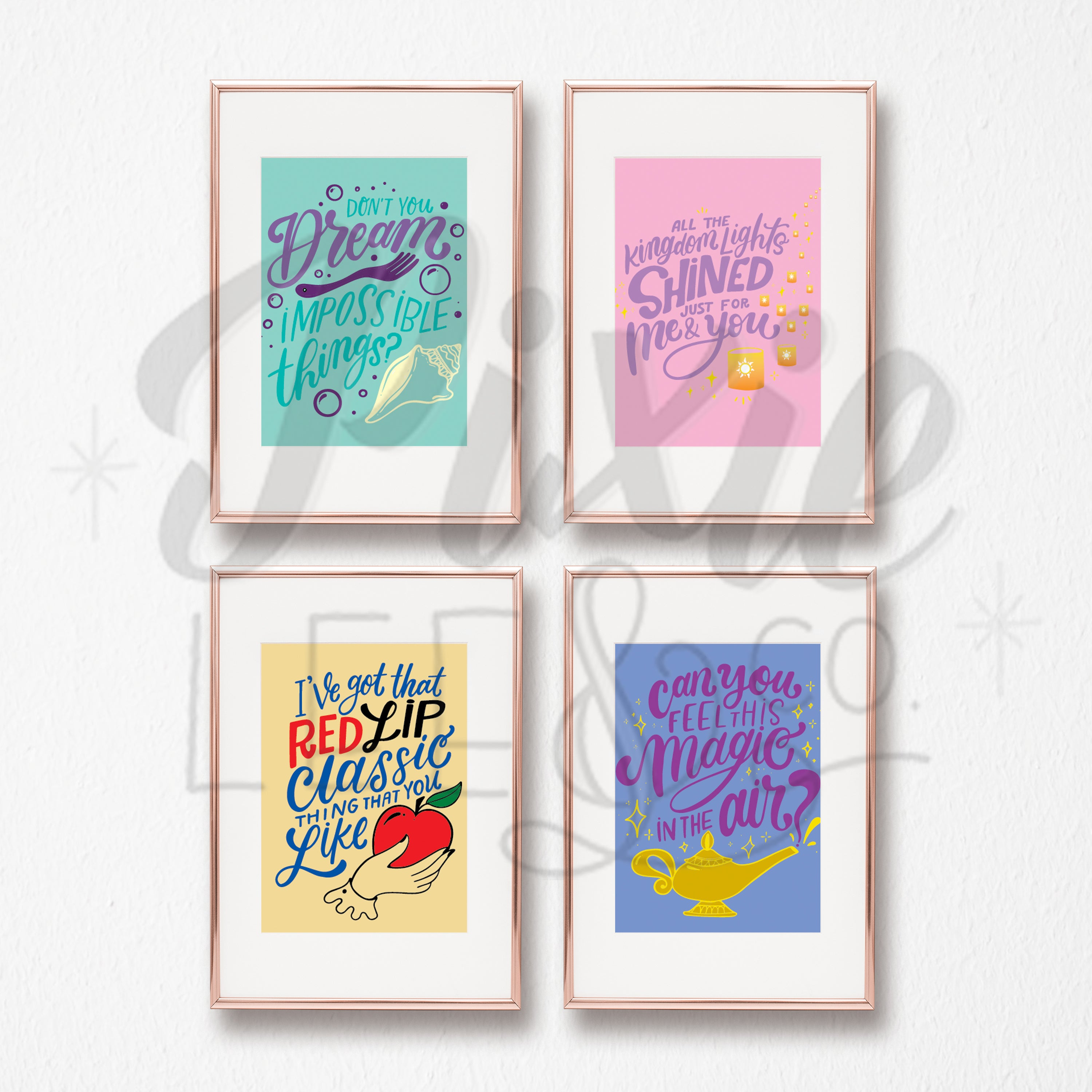 Swift Collection Prints 4-Pack