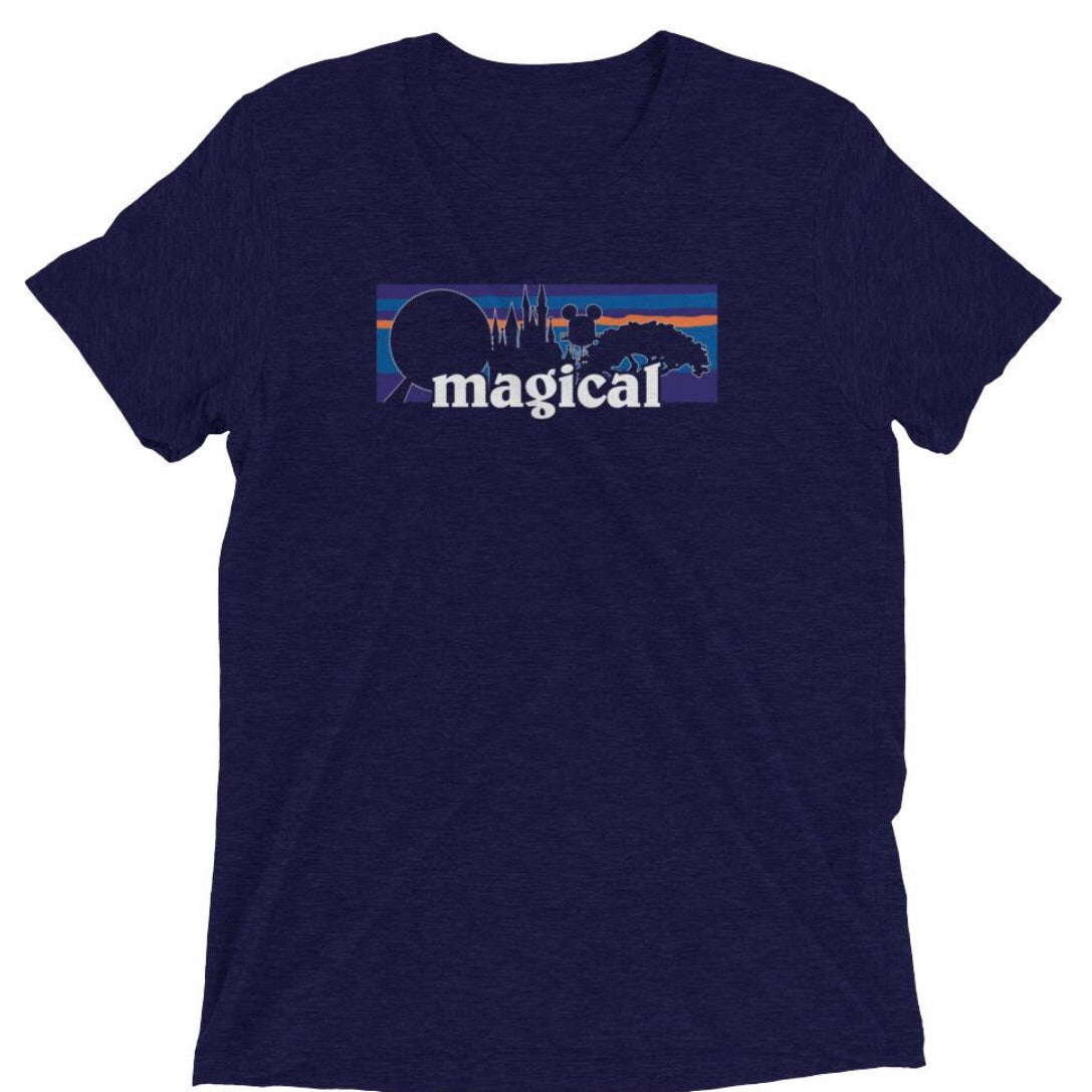 Magical Navy Unisex Tee